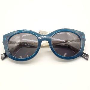 NWT DRAPER JAMES Isabelle Blue UV Sunglasses 🌻